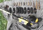 munice ze studny a okolí